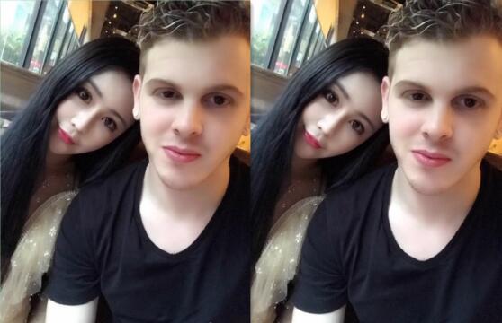 疑似香港靓模谭嘉仪Vivi Tam与老外男友视频流出