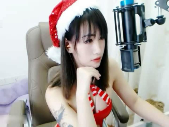 魅心(圣诞护士黑丝)陪你们12月25号_