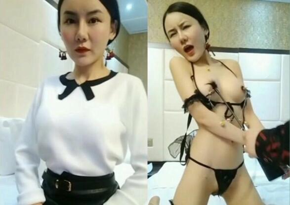 豆芽姐演绎模特小丽酒店面试导演被要求洗澡换上性感情趣内衣潜规则口爆颜射