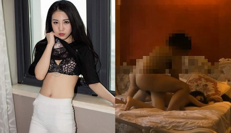 因乱停保时捷被肉搜的国模龙馨~早期拍摄的性爱影片出土~!!!
