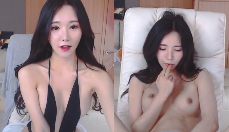[韩国] 光说不练是不行的~大奶主播直接拿出假屌玩给你看~