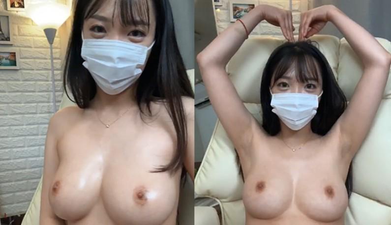 [韩国] 卧蝉妹妹~帮奶头上润滑~这样玩才不会破皮~