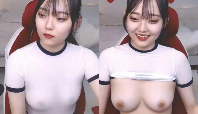 [韩国] 美乳主播陪你探索小穴穴~享受这甜蜜蜜的美乳~
