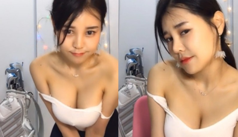 [韩国] 事业线深似海~大眼主播在线裸聊~ (3)