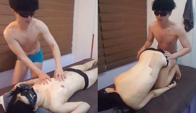 [韩国] 把女伴找来空中按摩~大家看得还愉快吗?