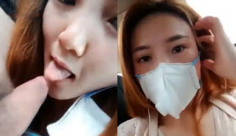 广东直播主公园约跑VLOG遇上新型冠状病毒体温量测!!身处疫区也不忘戴罩也带套!! (3)
