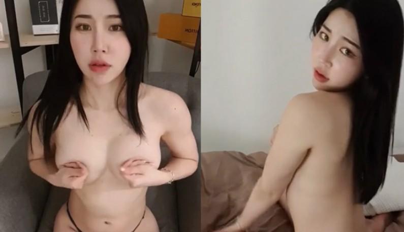 [韩国] 黑长直主播露出绝世美背~爹爹们想舔~