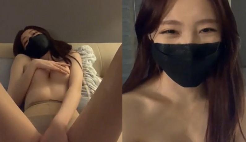 [韩国] 口罩正妹呼吁大家没四千万别出门~在家抖屁屁给爹爹们看~