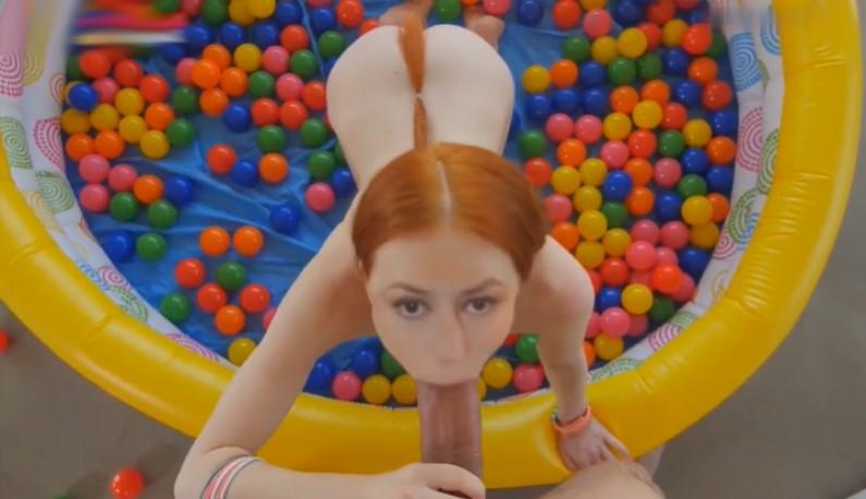 [AI换脸] 欧美演艺圈淫梦再现~趴在球池还是要童趣吃屌~
