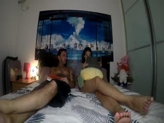 北京模特瑶瑶和意大利帅哥男朋友自拍性爱2部曲电梯惊魂恐怖夜
