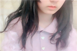 萌妹口无小银狐-紫色萝莉裙