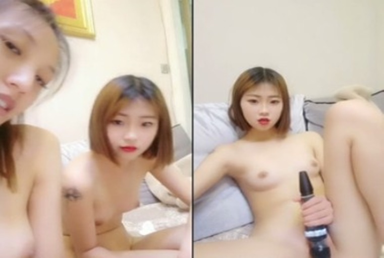 为了冲高人气与姐妹一起在镜头前淫叫声真是诱人视讯遭粉丝流出