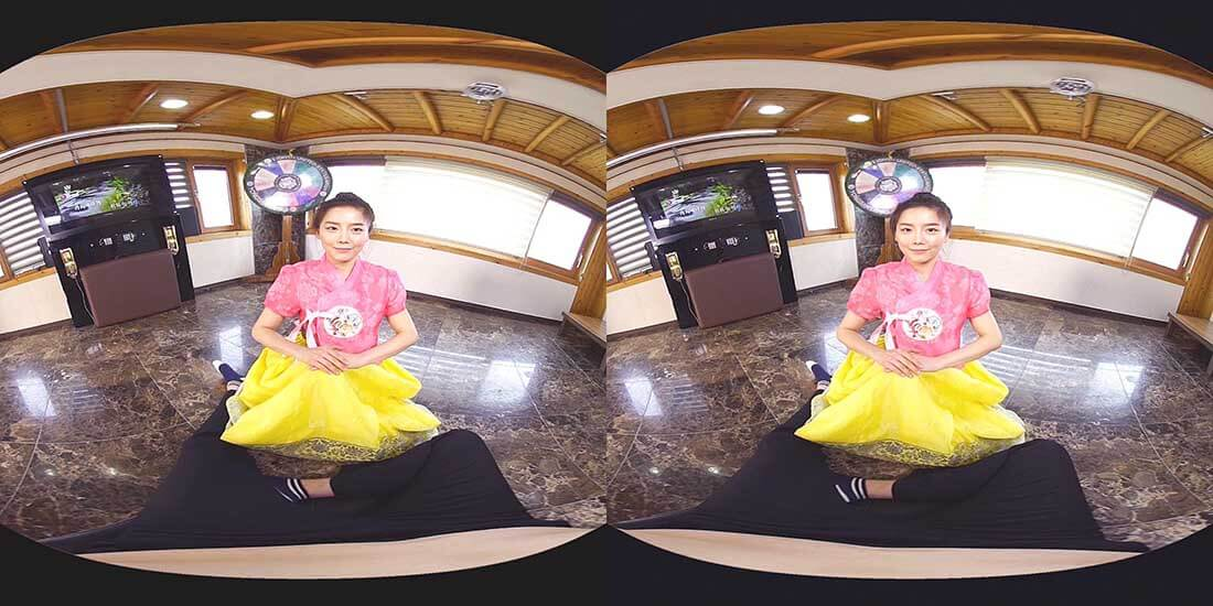 稀有精品,南韓VR劇情19禁視訊,身著民族服飾的美乳精靈足交啪啪