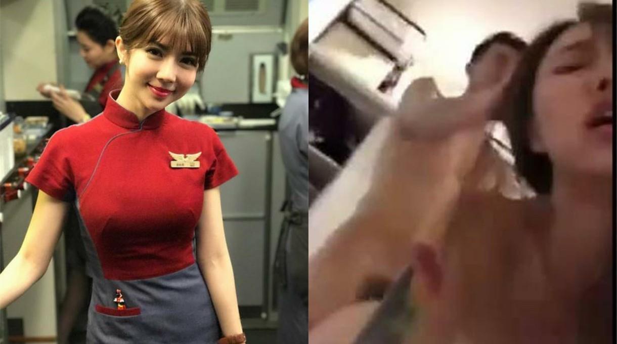 【门事件】台湾华航超漂亮空姐张比比背着老公和帅哥摄影师偷情曝光