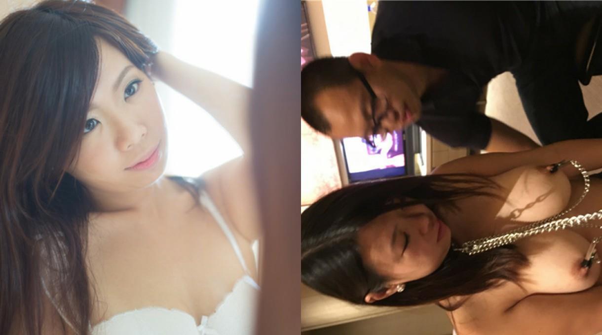 【网曝门事件】香港34E豪乳人妻Lisa搭上富豪不雅自拍流出,疯狂性爱趴大玩SM疯狂3P
