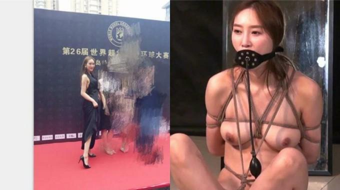 风吟鸟唱猥琐摄影师潜规则风云环球模特大赛亚洲小姐婷婷,大长腿极品身材SM口爆