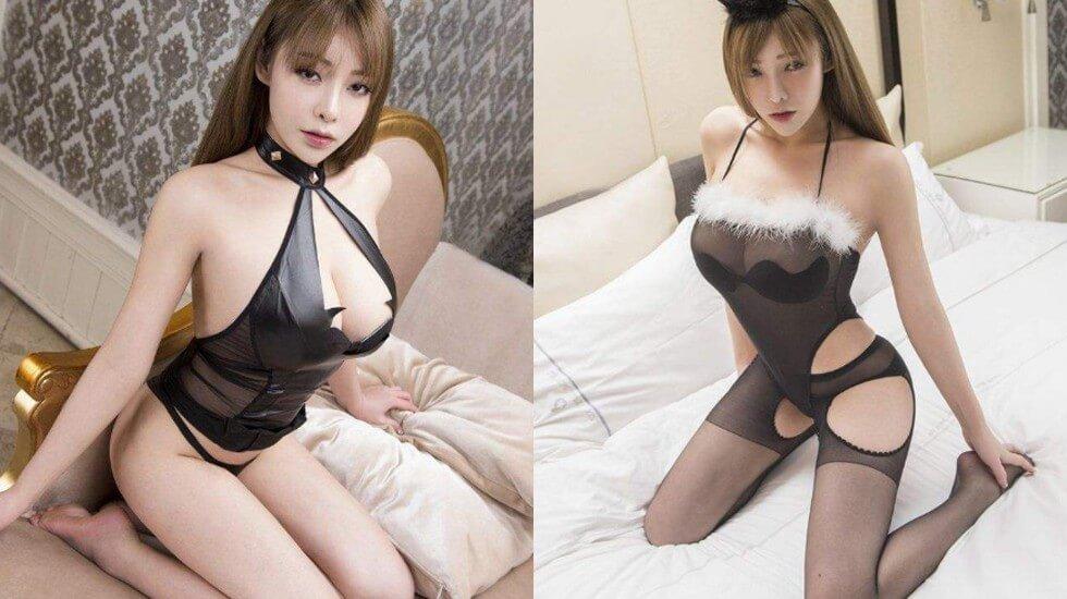 珍藏视频谭晓彤大尺度浴室视频全身连体黑丝胸型完美真空看鲍鱼