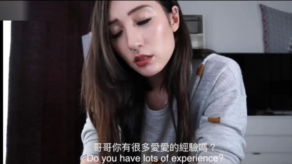 长得像名模的香港网红混血妹独角戏演绎勾引哥哥插逼普通话对白说的还挺标准的