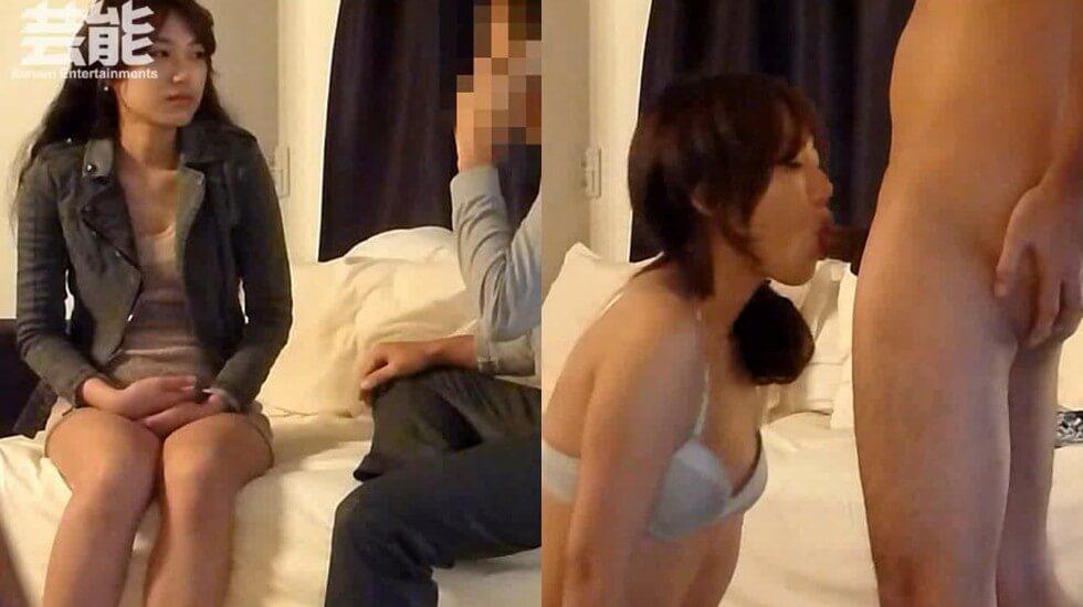 韩国芸能界の悲惨な门事情,找了个外援女,穿着丝袜干,真爽!