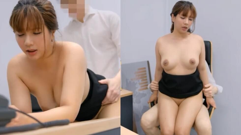 巨乳吴梦梦在老闆辦公室偷情,現場超過10人圍觀插入實況超刺激