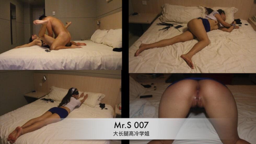 重磅福利91大神MR.S007酒店各种姿势性战172CM高冷学姐