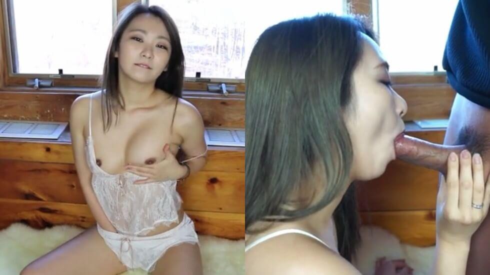 清纯漂亮妹子大早上就与男友开始了晨练技术真好