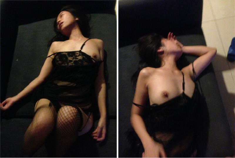 吊带黑丝KTV公主下药迷醉 在包房就给上了 无套抽插小逼挺紧