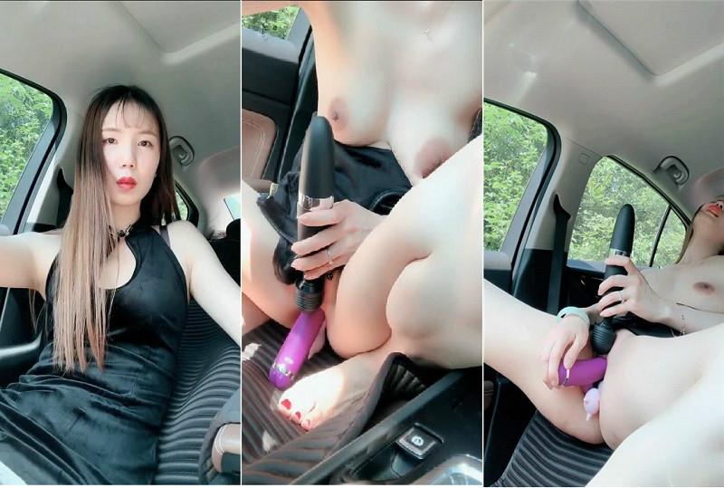 美骚妇开车到野外车上旗袍黑丝全裸双插摩擦阴蒂 最后高潮美乳揉变形了