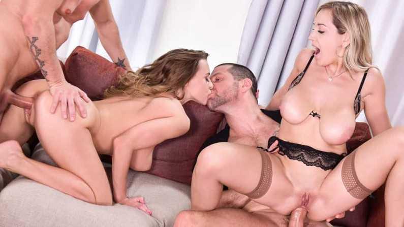 HandsOnHardcore Josephine And Siya Jey A Kinky Swingers Affair