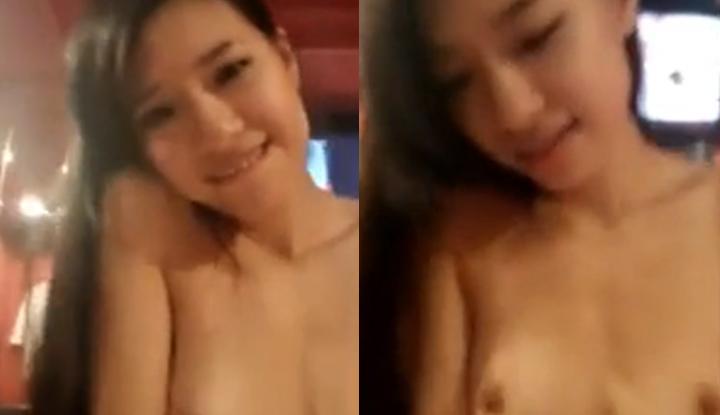 [香港] 享受坐在上面摇的控制感,可爱港女最后满足的对镜头笑了!