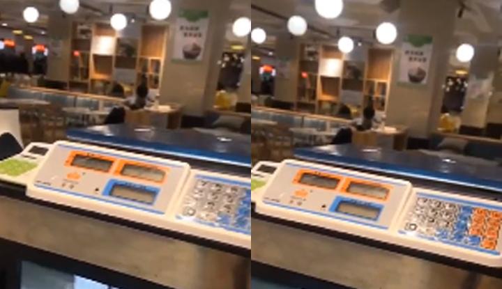 年轻学生疑似在x州大学学生餐厅口交视频流出~