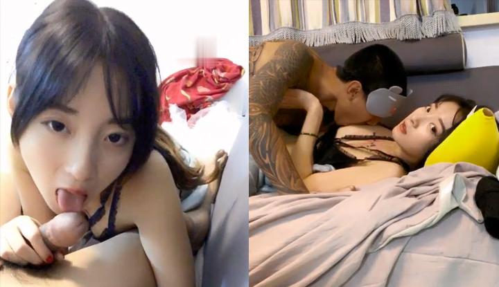 野性纹身漂亮妹子与男友日常啪啪,沙发上抽插呻吟娇喘非常诱人~