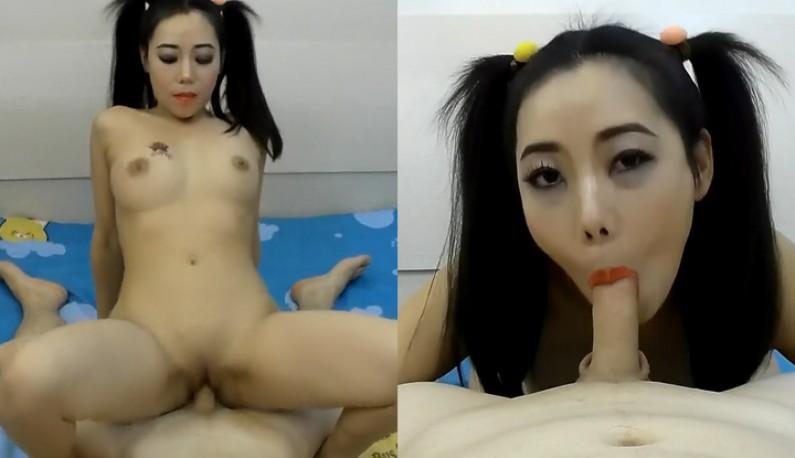 华裔小丑女淫蕩发浪,发挥极致口活让小哥哥的肉棒在体内打桩~