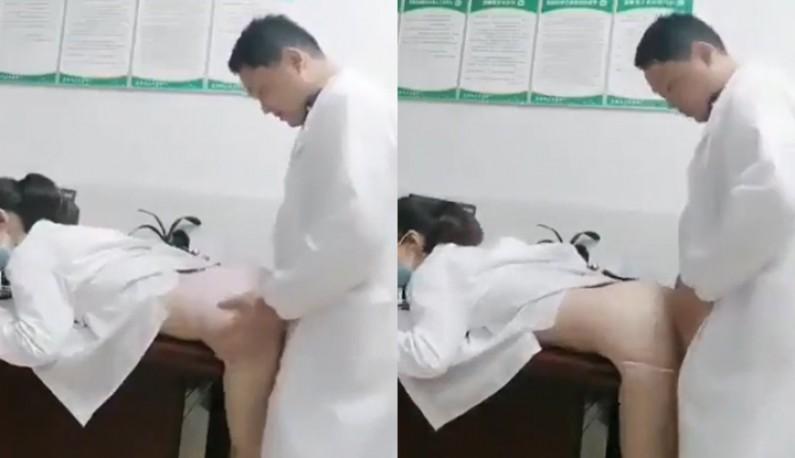 情慾急诊室 小护士被医生的大鸡巴磨蹭到逼逼超痒~医生快~病人还在外面等啊!