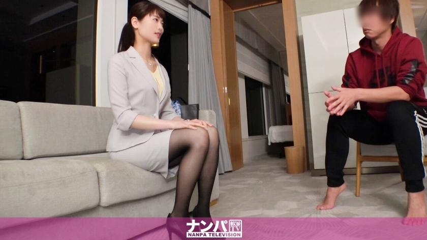 マジ軟派、初撮。 1332 土下座してセックスして下さいと懇願され、最初は戸惑っていたけど3年振りのキスにとろけてそのまま體を許しちゃう美人秘書