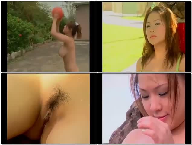 台湾女星32F熊熊卓毓彤还没红时拍摄3点全裸打篮球