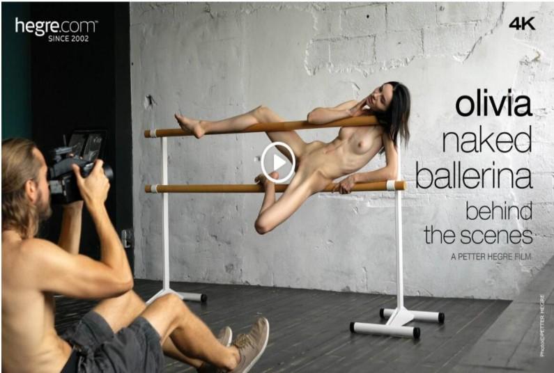 Olivia Naked Ballerina Behind The Scenes