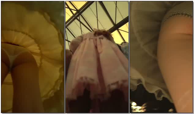 国内漫展精彩高清抄底系列美丽的Cos小姐姐们裙底隐藏着丰满诱人的肥臀