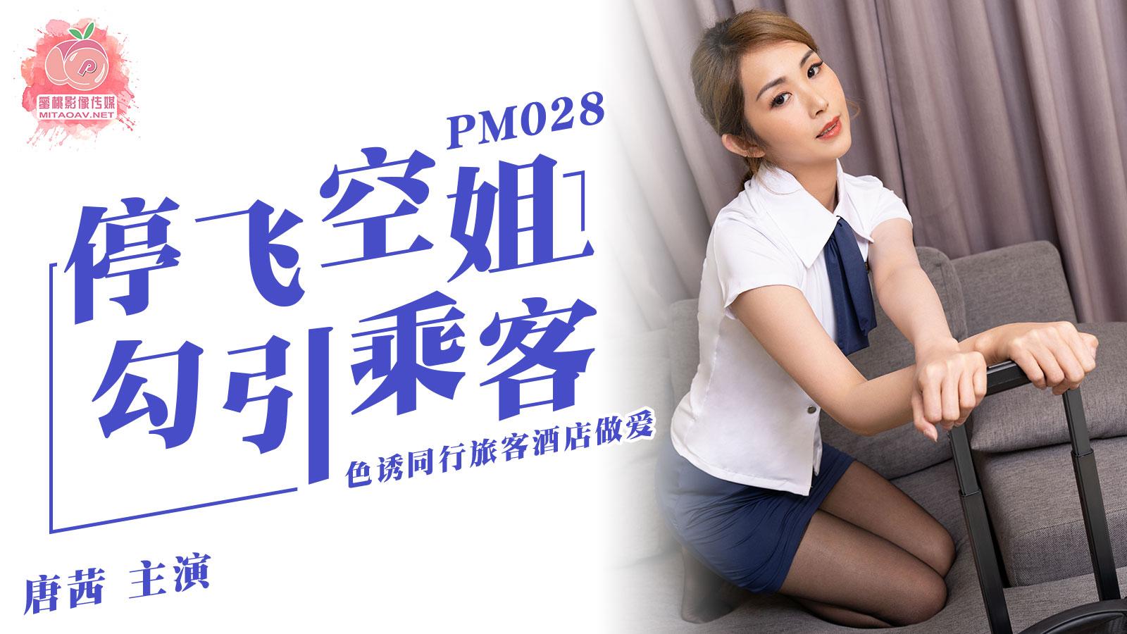 蜜桃传媒PM028停飞空姐勾引乘客-唐茜