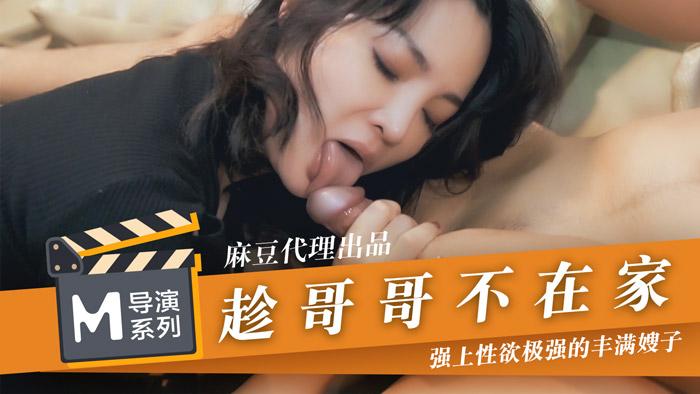 麻豆導演系列-趁哥哥不在家強上性慾極強的豐滿嫂子